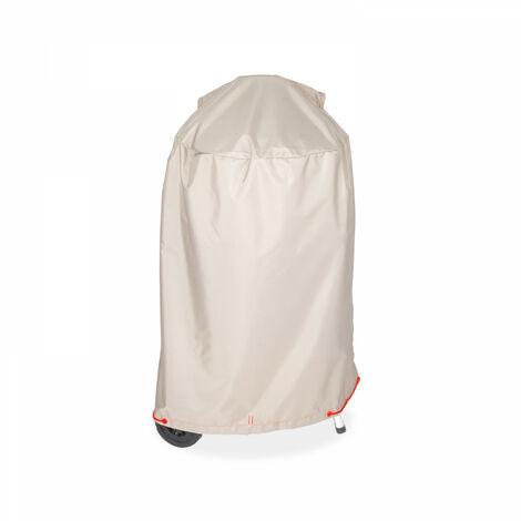 Housse de protection pour barbecue rond Diamètre 70 cm Cov'Up - Taupe