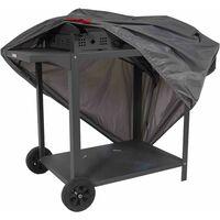 Housse de protection pour barbecue XL 150 x 60 cm - Gris