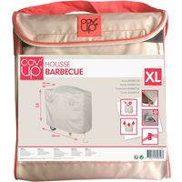 Housse de protection pour barbecue XXL 150 x 60 cm - Taupe