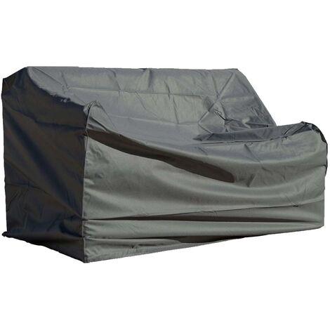 Housse de protection pour canapé 170 x 90 cm - Gris