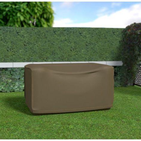 Housse de protection pour canapé 2 places par Nortene - Taupe - Extérieur - Ajustable - Taupe