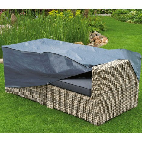 Housse de protection pour canapé de jardin H60 x L170 x l90 cm