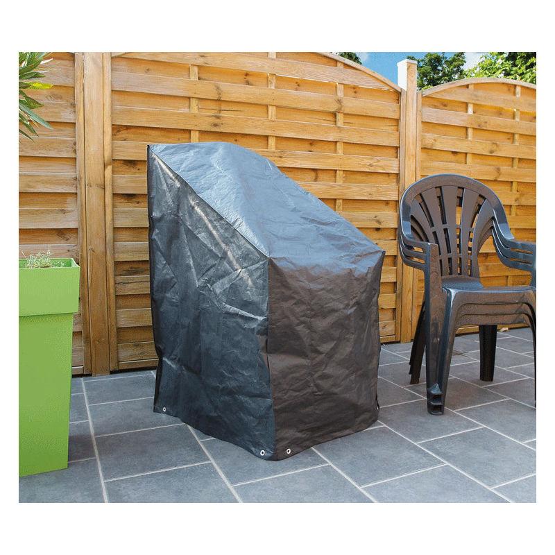 Housse de protection pour 6 chaises de jardin H110 x L68 x l68 cm