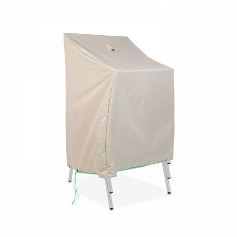 Housse de protection pour chaises de jardin Standard - Taupe