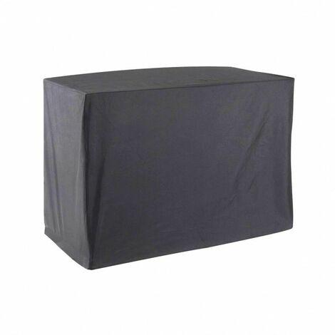 Housse De Protection pour chariot plancha Haute Qualité polyester L 120 x l 60 x h 90 cm couleur anthracite