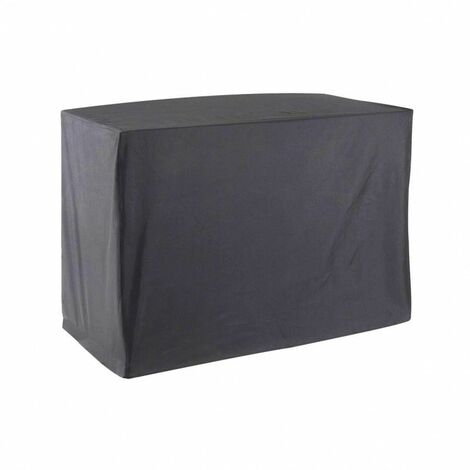 Housse De Protection pour chariot plancha Haute Qualité polyester L 120 x l 60 x h 90 cm couleur anthracite - Anthracite