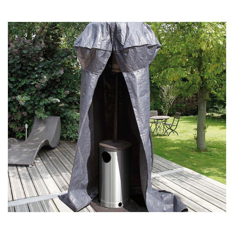 Housse de protection pour chauffage extérieur de terrasse H250 x L128 x l62 cm