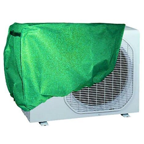 Housse de protection pour climatiseur r�glable 90X55X30Cm Pvc Green Natuur Nt79368
