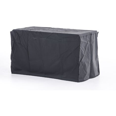 Housse de protection pour coffre de rangement Luxus L noir