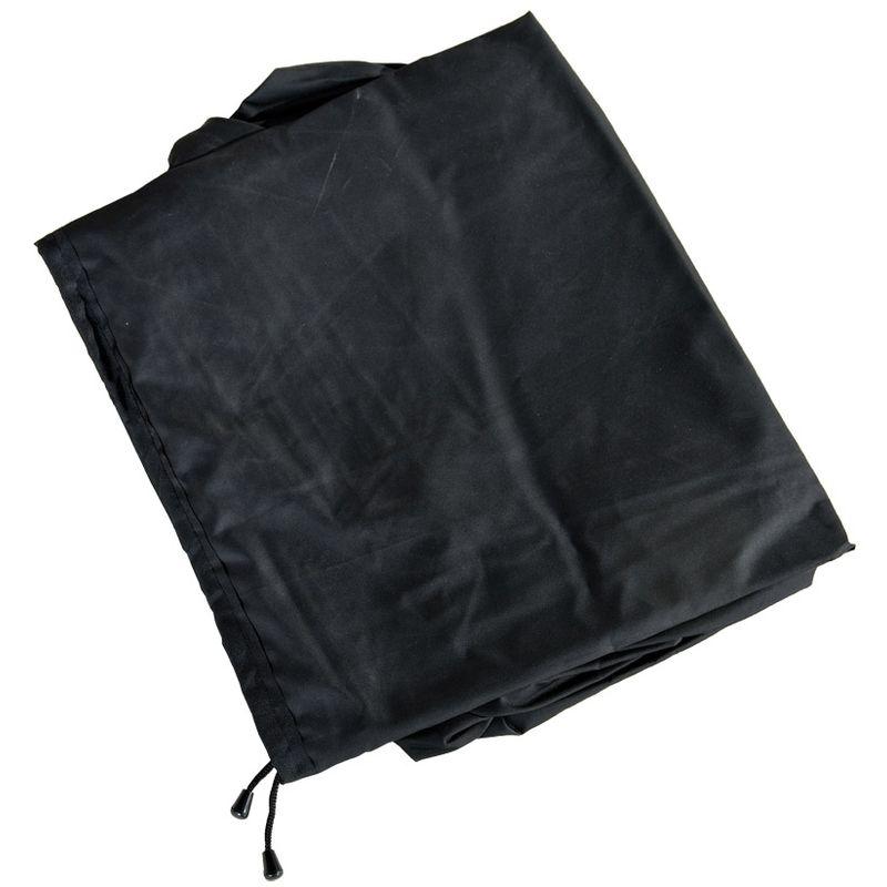 Housse de protection 220x75x102 pour les meubles polyrotin Treviso noir