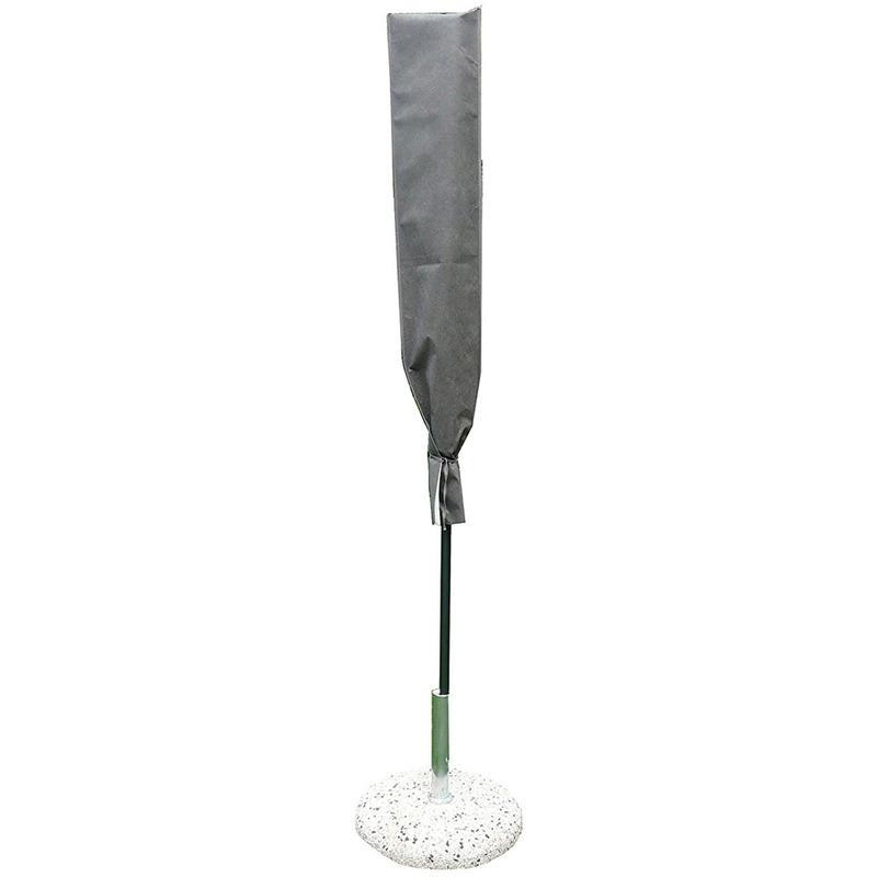 Housse de protection pour parasol coloris taupe - Dim : 140x30 cm
