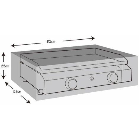 Housse de protection pour plancha à gaz 82x59x25cm Werkapro
