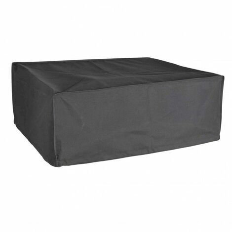 Housse De Protection pour plancha à poser Haute Qualité polyester L 60 x l 60 x h 25 cm couleur anthracite - Anthracite
