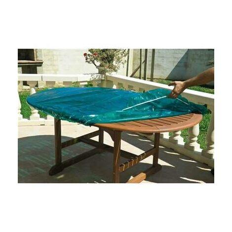 Housse de protection pour plateau dessus de table ronde exterieur diam 120 cm