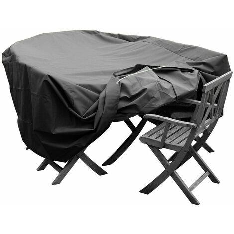 housse de protection pour salon de jardin haute qualit. Black Bedroom Furniture Sets. Home Design Ideas