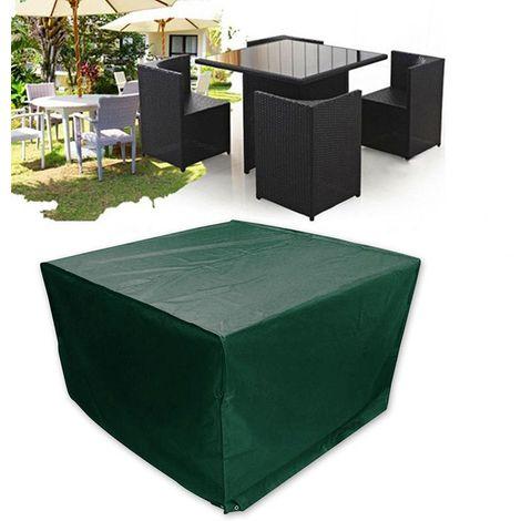 Housse De Protection Pour Salon De Jardin Table Vert - 187 X ...