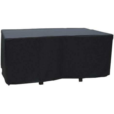 Housse de protection pour table 170X105 cm - NOIR