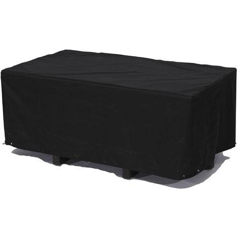 Housse de protection pour table 210X105 cm - NOIR