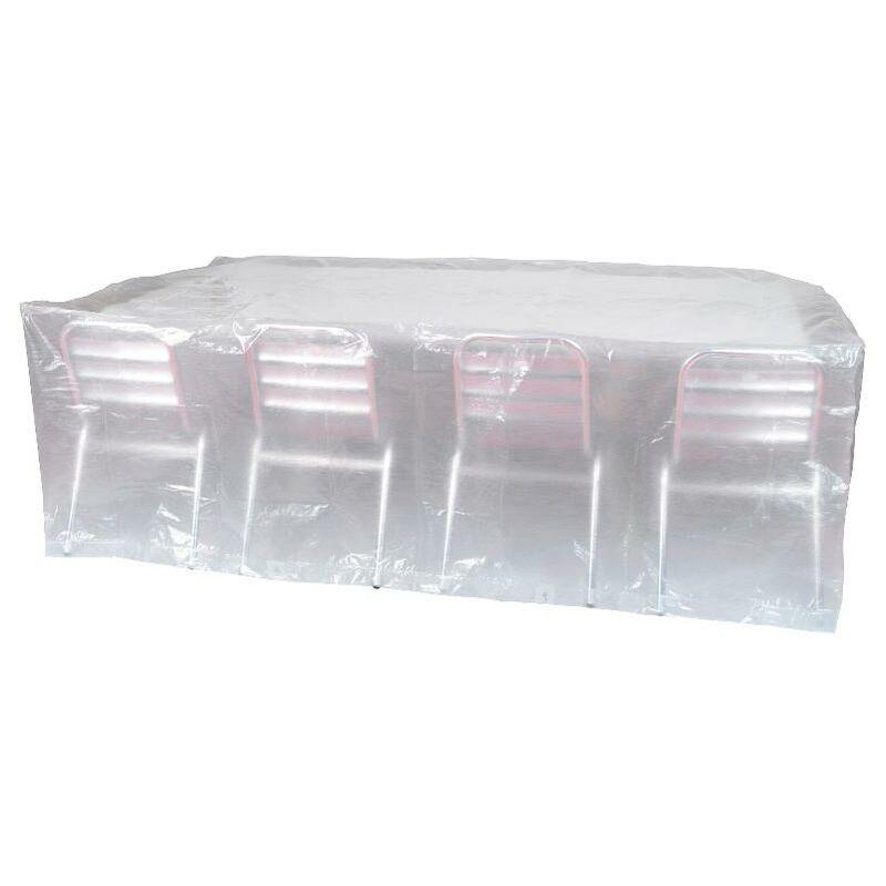 Housse de protection pour table + chaises 250 x 150 x80 cm RX