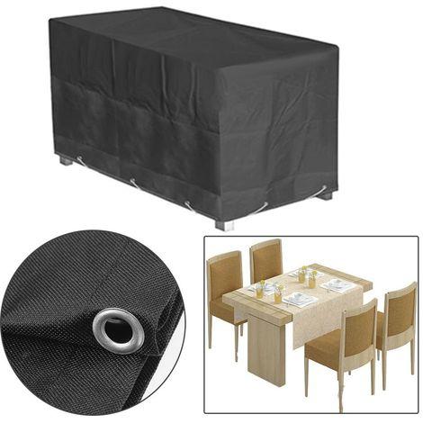Housse de protection pour table de jardin 226x112x65cm