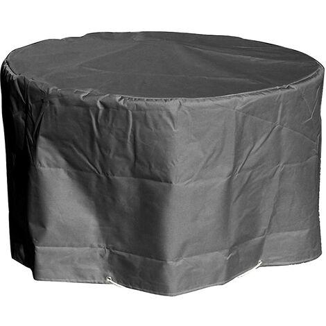 Housse de protection pour Table de Jardin ronde Haute qualitŽ polyester D  120 x h 70 cm Couleur Anthracite