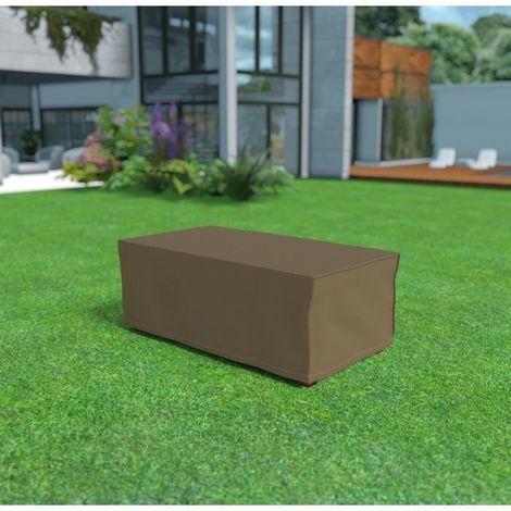 Housse de protection pour table rectangulaire par Nortene - Taupe - Extérieur - Ajustable