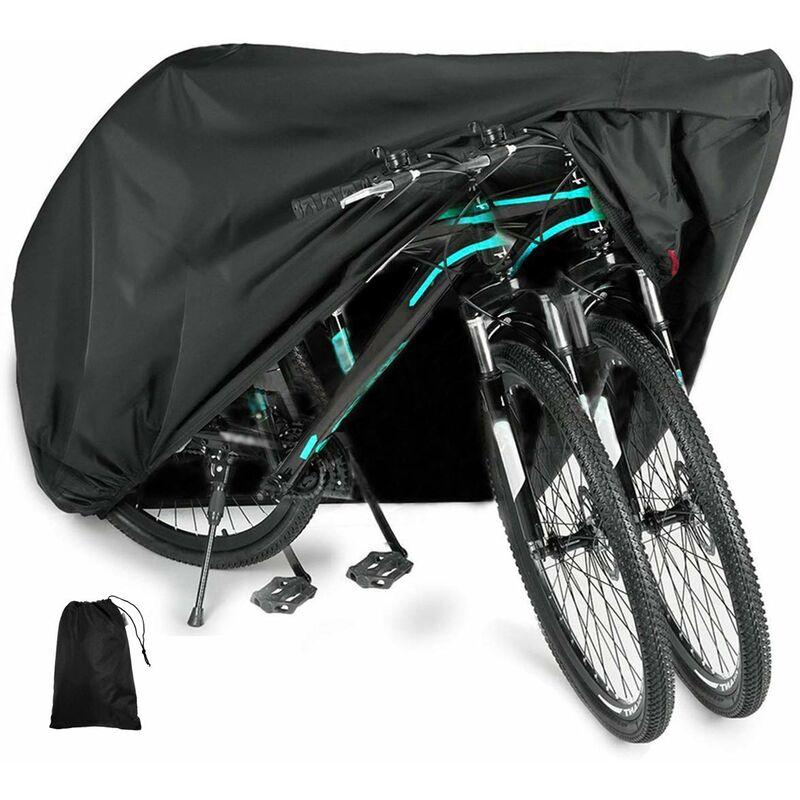 Housse de Protection pour vélo en Tissu Oxford 210D - Housse de Protection pour vélo - XL - Housse de Protection de vélo - étanche - 200 x 70 x 110 cm