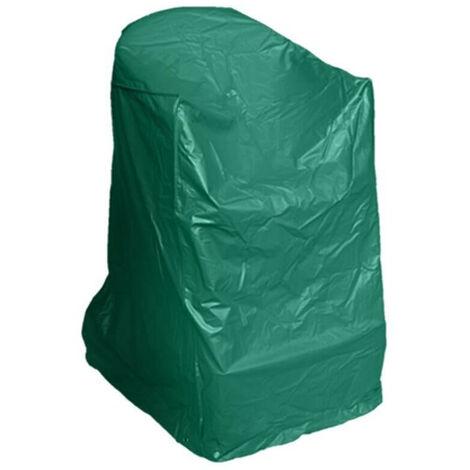 Housse de protection PVC chaise de jardin Vert 68 cm