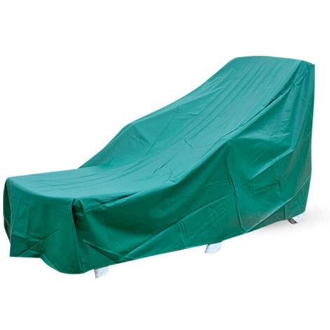 Housse de protection PVC transat Vert 175 cm