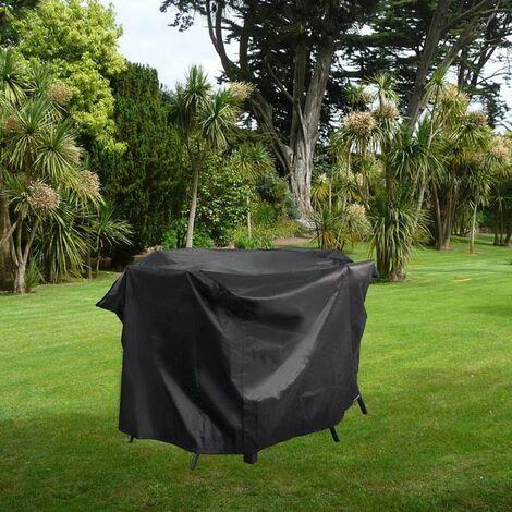 Housse de protection salon de jardin 165x140x105 cm - Ravenne (6/8/10/12 pl)