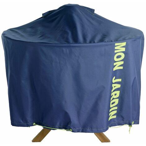 Housse de protection table de jardin ronde 120 cm Standard - Bleu