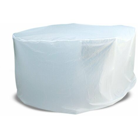 Housse de protection table ronde de jardin