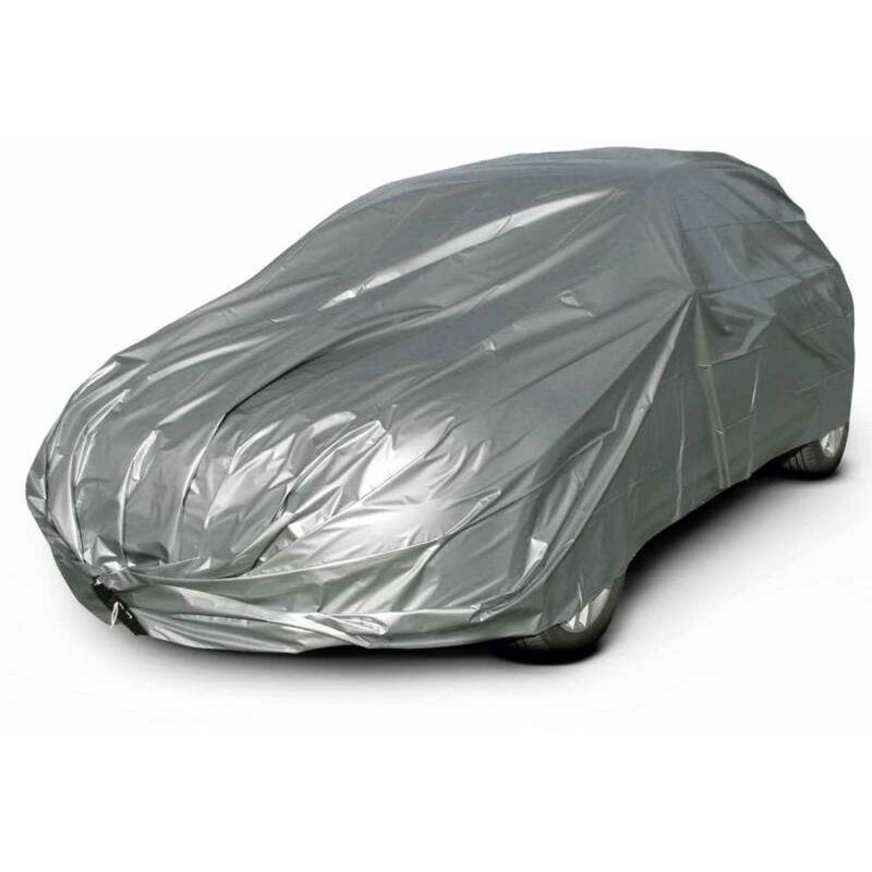 Maillesac - Housse de protection voiture De 3,86 m à 4,20 m - Gris