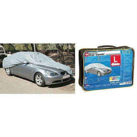 Housse de protection voiture en PVC - L - 480x175x120cm Generique