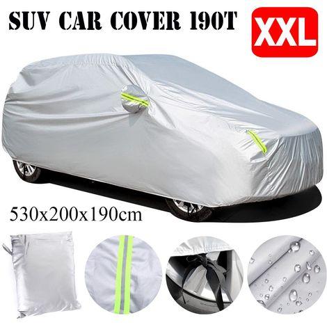 Housse de Protection Voiture Impermeable Exterieur Universel Pour SUV XXL:5.3mx2.0mx1.9m
