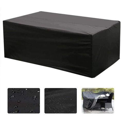 """main image of """"Housse de Salon Table Rectangulaire Oxford pour Meubles de Jardin UV Protection (213 x 132 x 74 cm)"""""""