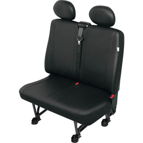 Housse de siège avec protège-tête en 2 parties - Transporter VS2 cuir synthétique - siège double