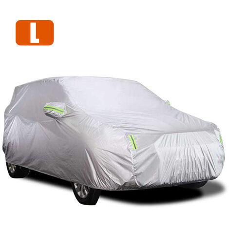 "main image of ""Housse de voiture, protection solaire, isolation thermique, protection UV, universelle pour berline"""