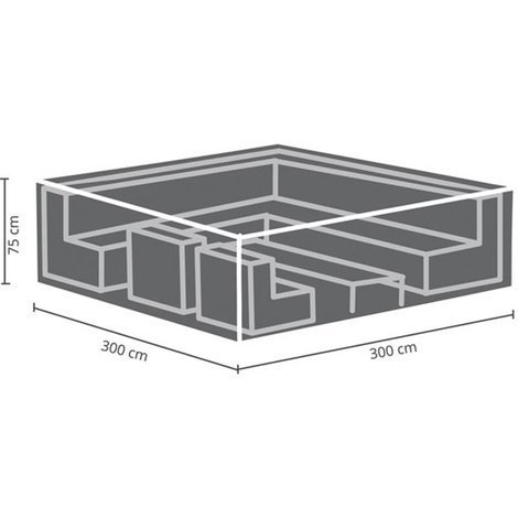 Housse D\'Extérieur Pour Salon De Jardin - 300 Cm