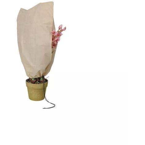 Housse d'hivernage et de protection pour plantes 180x120cm avec fermeture glissière