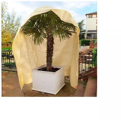 Housse d'hivernage et de protection pour plantes 200x300cm avec fermeture glissière