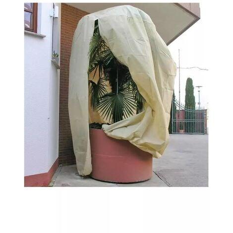 Housse d'hivernage et de protection pour plantes 250x350cm avec fermeture glissière