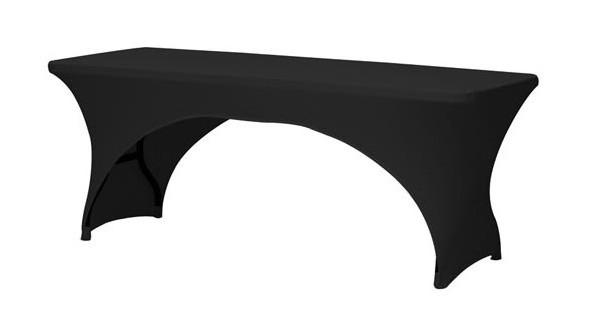 extensible noire rectangulaire pour table arqué Housse kOPXiZTu