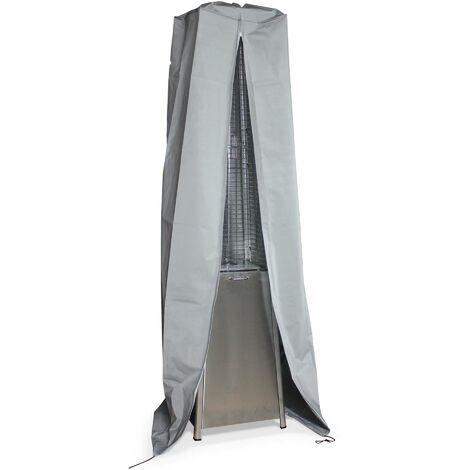 Housse intégrale pour parasol chauffant pyramide GREENLAND ou ARCTIC Alice's Garden