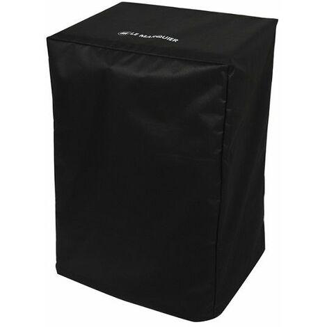 Housse noire PVC Le Marquier 55x40x85 pour planchas sur chariot ou desserte - Noir