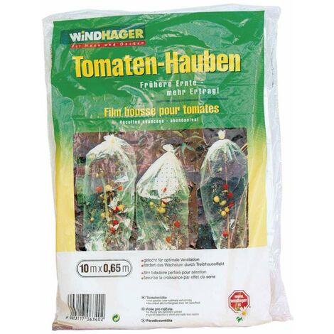 Housse perforée pour tomates