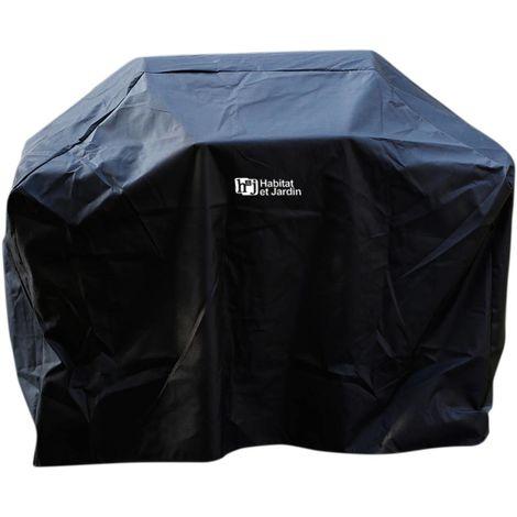 Housse pour barbecue - 140 x 110 cm - Noir