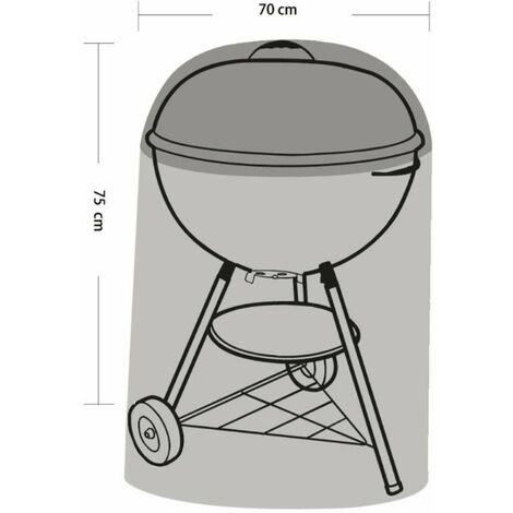 Housse pour barbecue et plancha Ø70x75cm Werkapro