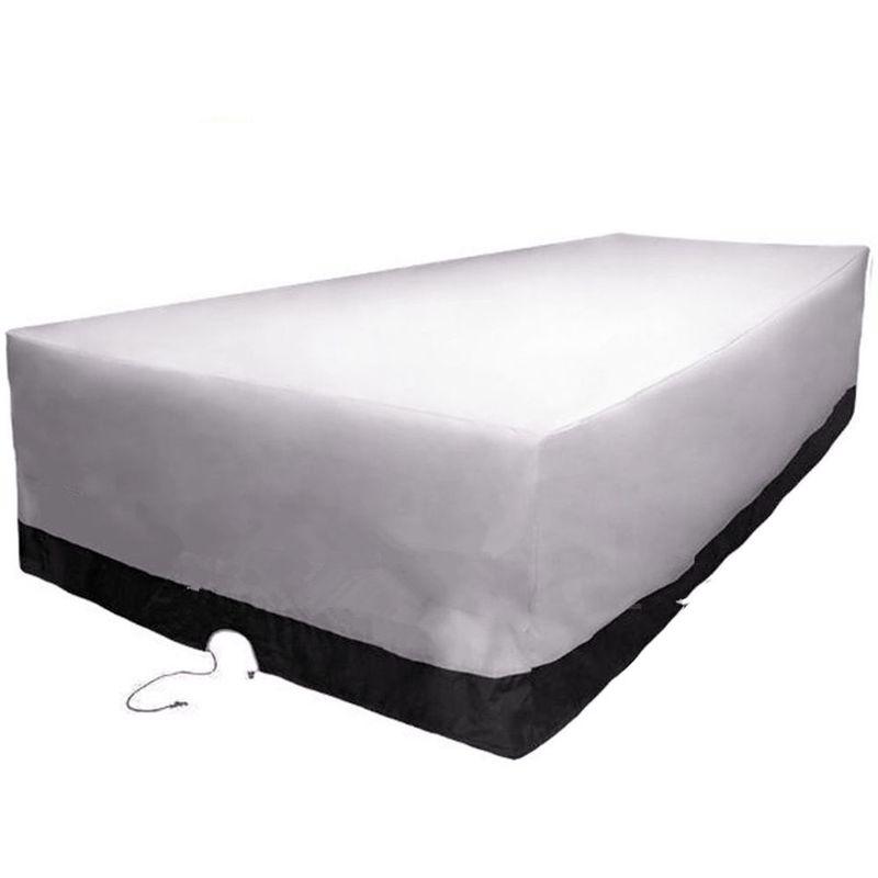 Housse pour meubles de jardin protection etanche 270cm x 180cm x 90cm LAVENTE