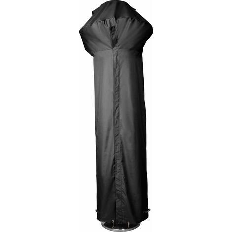 Housse pour parasol chauffant 230 cm Premium - Noir - Noir